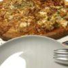 ピザを囲む、不仲な夫婦