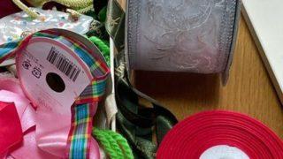手芸用品も断捨離・・・古い診察券も処分、安いシュレッダーが使える。
