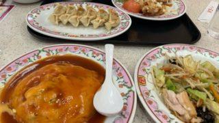 夫と一緒に食べない一番の理由・・・久しぶりの二人ご飯は王将で^^