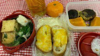 不仲な夫の、ピカピカのスーツケース現る、妻は駅ソバで、鴨南蛮・・・具だくさん味噌汁弁当