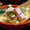 初日、朝から夜まで食べてます、懐石料理、粉物、ああ、大阪の夜は更けて〜