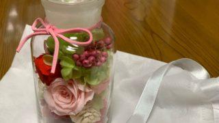 お誕生日のプレゼントをいただく、可愛いお花、ありがとう~❀