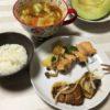 不仲な夫婦、「いい夫婦」の日に、いい夫婦特集を見ながら食事(笑)・・・作り置き料理再開。
