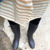 独居高齢者の身の回り、救急箱の☑してなかったわ・・雨支度、長靴、快適です。