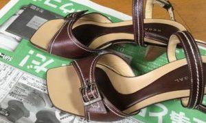 リサイクルショップでお買い物~、靴がアタリ!いいかもしれないー!ww