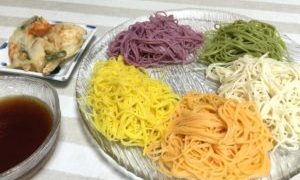 オシャレな素麺、これはいいわぁ~ヽ(^。^)ノ