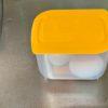 100均で、温度卵作りを買ってみた、不仲な夫の早退・・シシャモ、牡蠣の土手鍋作る。