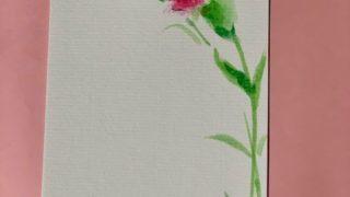 母の日に、親に毎日絵手紙13. 椎茸肉詰め、手羽元、ヤキソバ・・・作ったよ、ツバメも居るよ~