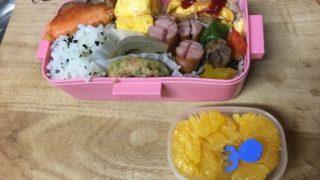 見つかってしまった・・・母のマネはダメだからね・・母ダイエット弁当と娘ガテン弁当・マーボー豆腐