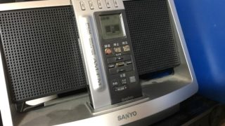 断捨離中、発見したラジオ、使ってみる・・・ああ、雲海の日航機に夢を馳せて~ひとりご飯はチキンカツ