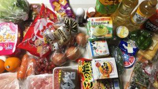 スーパーで8,000円の買い物、正月並みだと・・へこむ、私的には爆買いです(>_