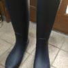 長靴の長時間使用に、思い知る・・・非常時は傘よりカッパです^^
