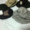 宅配で母から帽子が送られてきた(・_・;) 定番ふりかけ、新しい炊飯器で炊いたご飯に、旨し
