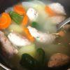 コールセンターのクレーム客、中年のオバサマは、若い男の子がいいらしい・・・シシカバブ風カレー味の野菜スープで来た。